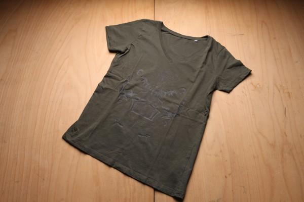 """V-Neck Shirt """"Vollwappen Vintage"""""""